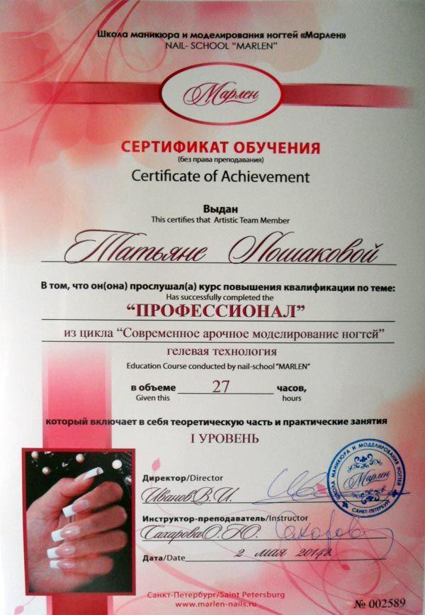 Курсы повышения квалификации для мастера маникюра в санкт-петербурге